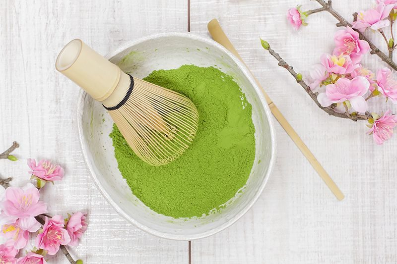 matcha zielona herbata