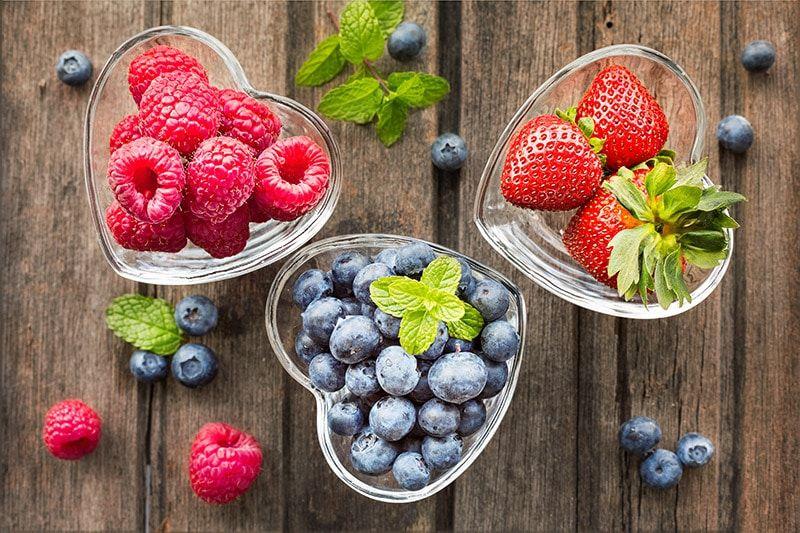 owoce bogate w antyoksydanty