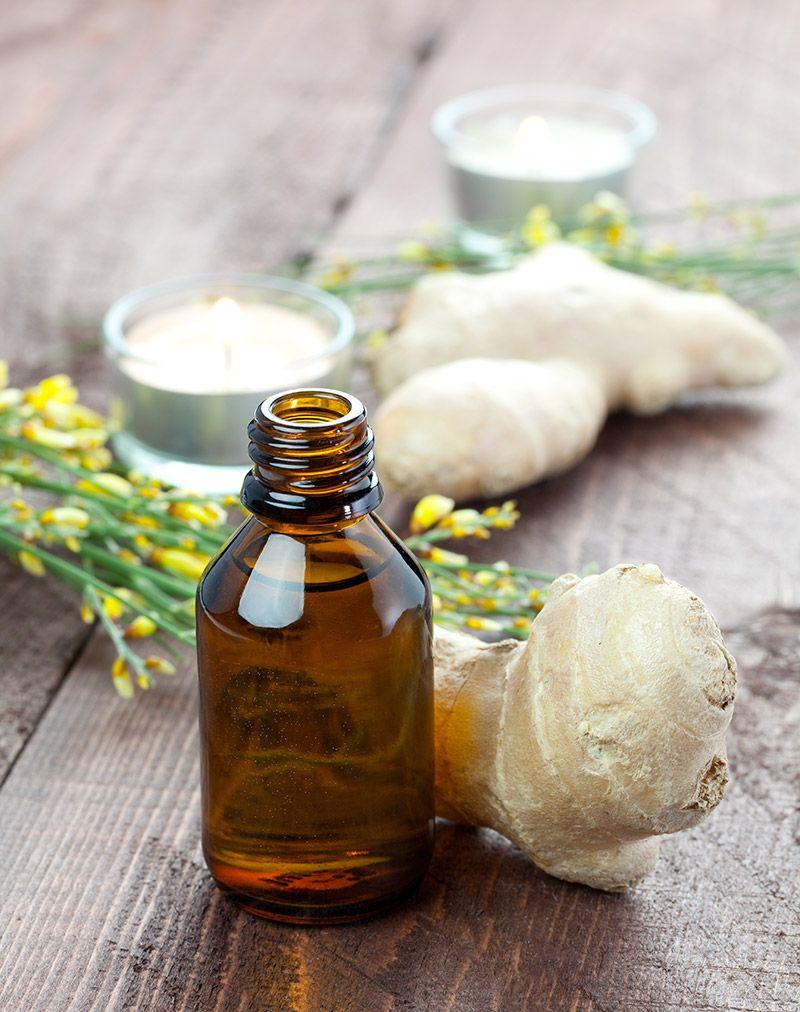 olejek z imbiru na porost włosów